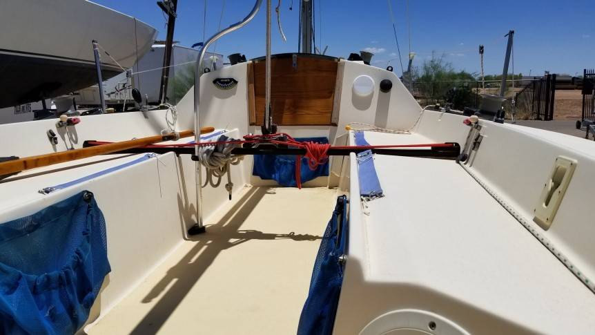 Holder 20 Sailboat for sale - Tiller and Kites